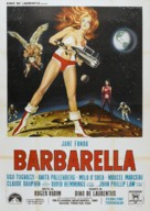 Barbarella - Italian Movie Poster (xs thumbnail)
