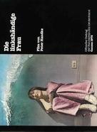 Die linkshändige Frau - German Movie Poster (xs thumbnail)