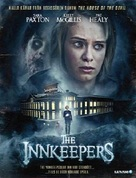 The Innkeepers - Swedish Blu-Ray cover (xs thumbnail)
