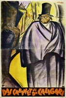 Das Cabinet des Dr. Caligari. - Austrian Movie Poster (xs thumbnail)
