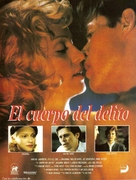 Body Of Evidence - Spanish Movie Poster (xs thumbnail)