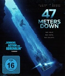 47 Meters Down - German Blu-Ray movie cover (xs thumbnail)