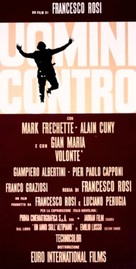 Uomini contro - Italian Movie Poster (xs thumbnail)