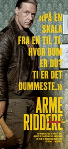 Arme Riddere - Norwegian Movie Poster (xs thumbnail)