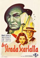 Scarlet Street - Italian Movie Poster (xs thumbnail)