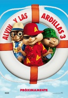 Alvin and the Chipmunks: Chipwrecked - Spanish Movie Poster (xs thumbnail)