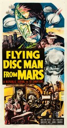 Flying Disc Man from Mars - Movie Poster (xs thumbnail)