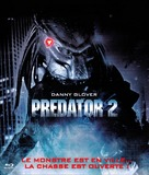 Predator 2 - French Blu-Ray cover (xs thumbnail)