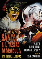 Santo en El tesoro de Drácula - Italian DVD movie cover (xs thumbnail)