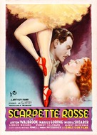 The Red Shoes - Italian Movie Poster (xs thumbnail)