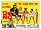 Dr. No - British Theatrical movie poster (xs thumbnail)