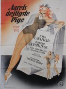 The Petty Girl - Danish Movie Poster (xs thumbnail)