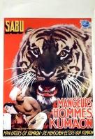 Man-Eater of Kumaon - Belgian Movie Poster (xs thumbnail)