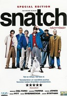 Snatch - Finnish DVD cover (xs thumbnail)
