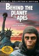 Behind the Planet of the Apes - DVD cover (xs thumbnail)