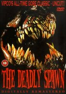 Return of the Aliens: The Deadly Spawn - British DVD cover (xs thumbnail)