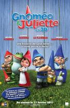 Gnomeo and Juliet - Canadian Movie Poster (xs thumbnail)