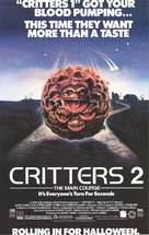 Critters 2: The Main Course - Video release movie poster (xs thumbnail)