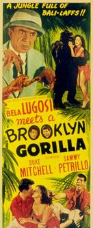 Bela Lugosi Meets a Brooklyn Gorilla - Movie Poster (xs thumbnail)
