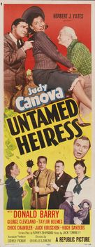 Untamed Heiress - Movie Poster (xs thumbnail)