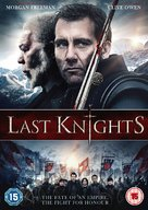The Last Knights - British DVD cover (xs thumbnail)