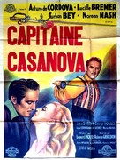 Adventures of Casanova - French Movie Poster (xs thumbnail)