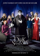 Dark Shadows - German Movie Poster (xs thumbnail)