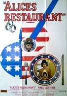 Alice's Restaurant - Swedish Movie Poster (xs thumbnail)