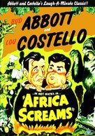 Africa Screams - British DVD movie cover (xs thumbnail)