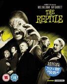 The Reptile - British Blu-Ray cover (xs thumbnail)