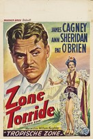 Torrid Zone - Belgian Movie Poster (xs thumbnail)