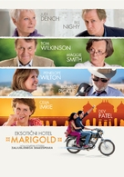 The Best Exotic Marigold Hotel - Slovenian Movie Poster (xs thumbnail)