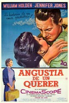 Love Is a Many-Splendored Thing - Argentinian Movie Poster (xs thumbnail)