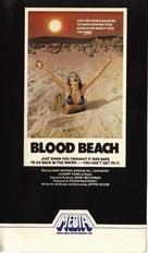 Blood Beach - VHS cover (xs thumbnail)