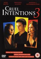 Cruel Intentions 3 - British Movie Cover (xs thumbnail)