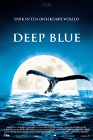 Deep Blue - Dutch Theatrical movie poster (xs thumbnail)