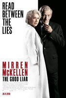 The Good Liar - Belgian Movie Poster (xs thumbnail)