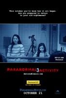 Paranormal Activity 3 - Movie Poster (xs thumbnail)