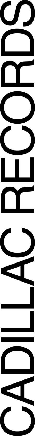 Cadillac Records - Logo (xs thumbnail)