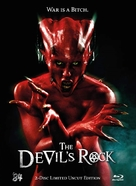 The Devil's Rock - German Blu-Ray cover (xs thumbnail)