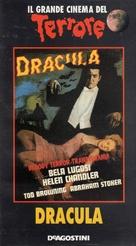 Dracula - Italian VHS movie cover (xs thumbnail)