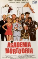 Mortuary Academy - Spanish DVD movie cover (xs thumbnail)