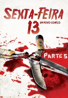 Friday the 13th: A New Beginning - Brazilian DVD movie cover (xs thumbnail)