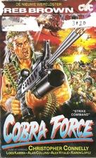 Strike Commando - Dutch Movie Cover (xs thumbnail)