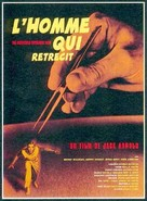 The Incredible Shrinking Man - French Movie Poster (xs thumbnail)