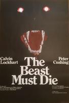 The Beast Must Die - British Movie Poster (xs thumbnail)