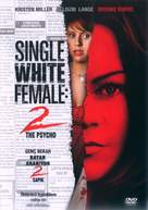 Single White Female 2: The Psycho - Turkish Movie Cover (xs thumbnail)