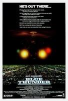 Blue Thunder - Movie Poster (xs thumbnail)
