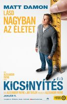 Downsizing - Hungarian Movie Poster (xs thumbnail)