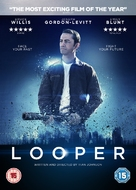 Looper - British DVD cover (xs thumbnail)